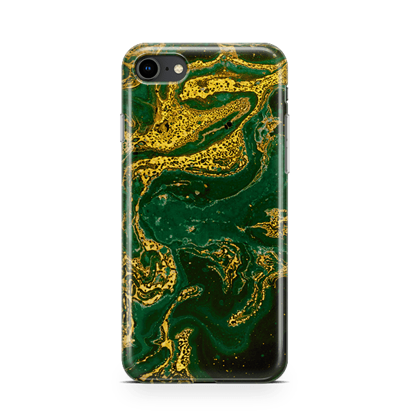Emerald Gold iPhone 8 snap Case