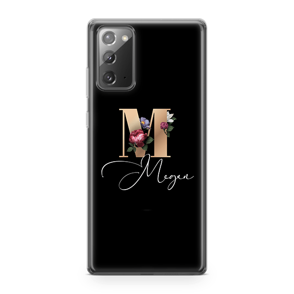 Floral Initial iPhone 11 Case