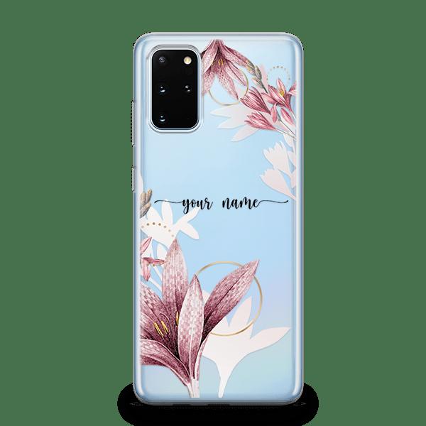 Floral Shadow galaxy S20 Case