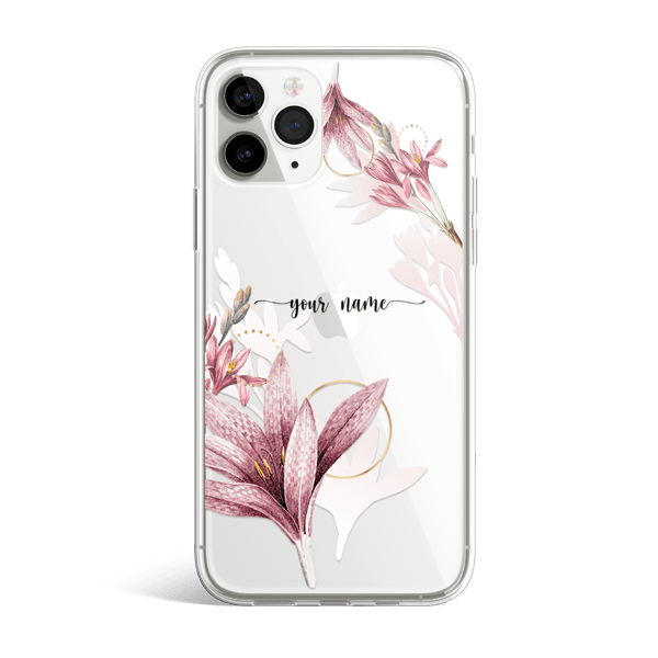 Floral Shadow iPhone 11 Case