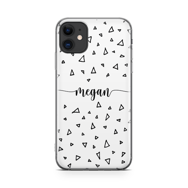 Scribble Monogram iPhone 11 Case
