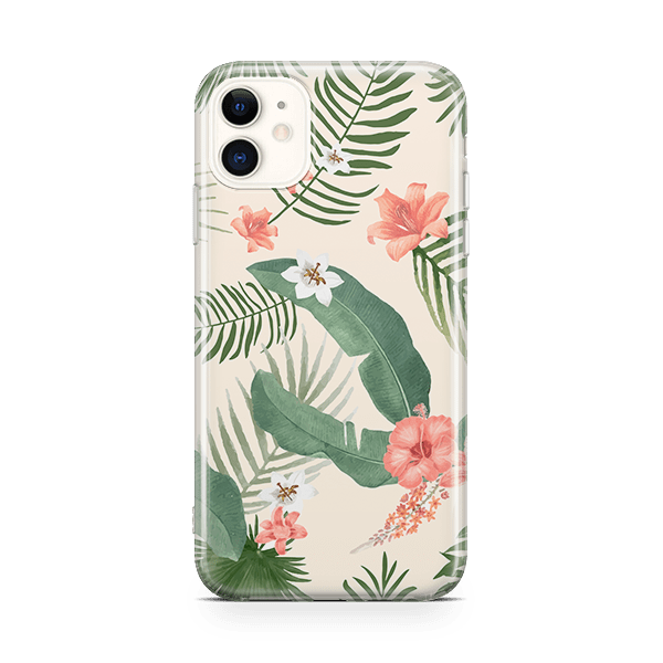Vintage Floral iPhone 11 Snap Case
