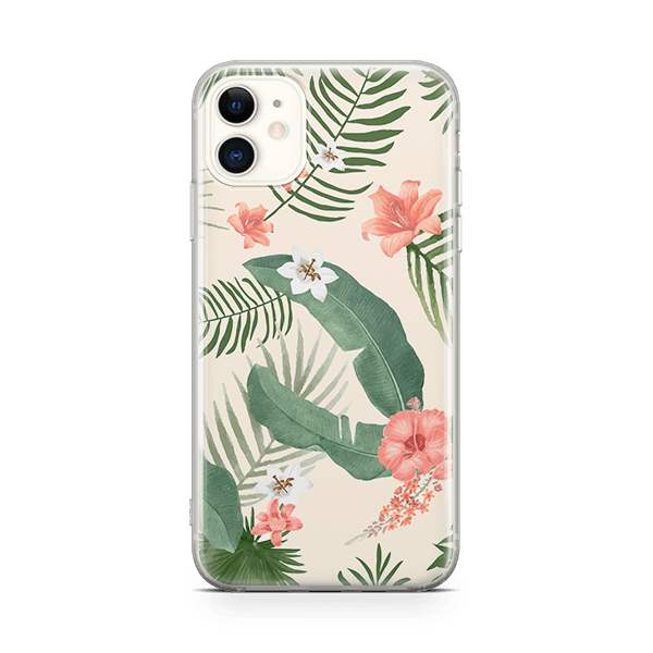 Vintage Floral iPhone 11 Soft Case
