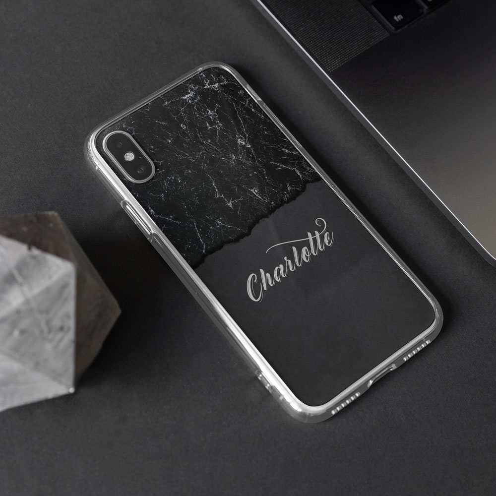 Blackened Custom Case