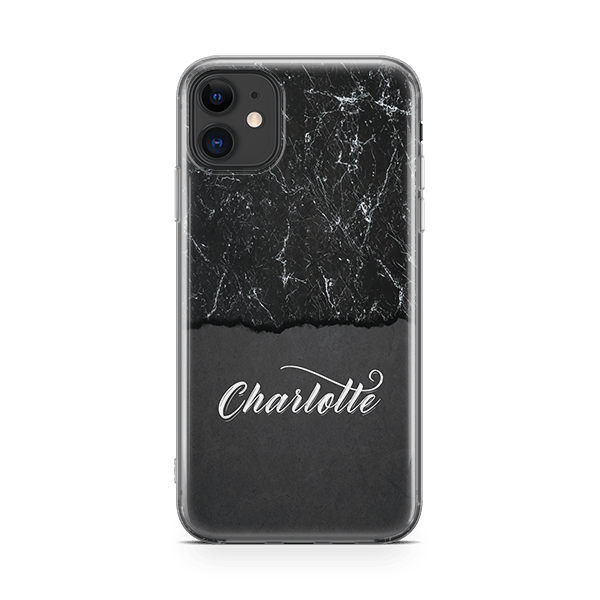 Blackened iphone 11 case