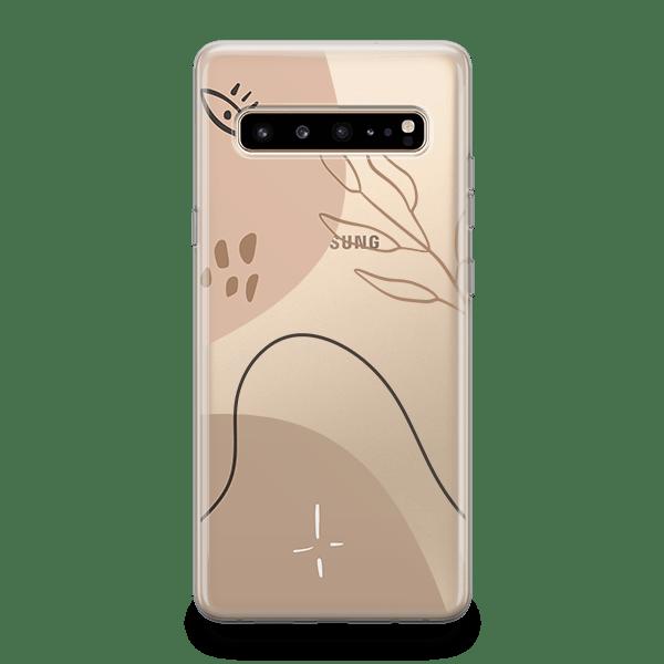 Neutral Modernism iphone 11 case silver