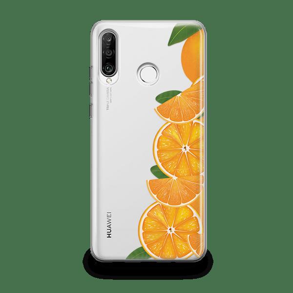 Orange Love iPhone 11 soft case