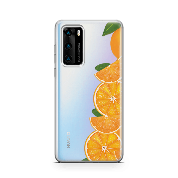 Orange Love iPhone 11 soft case