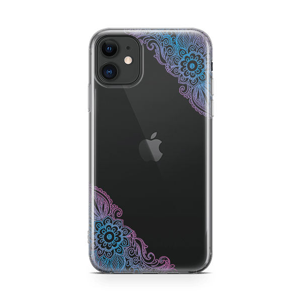 Aqua Mandala Phone Case