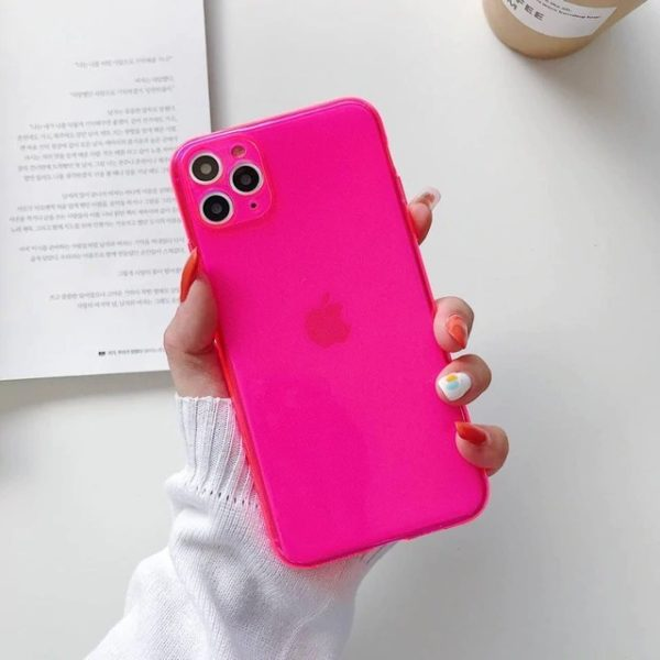 Flouescence iPhone cover