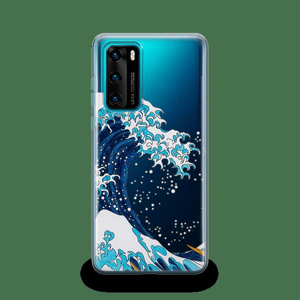 Kanagawa Wave Huawei P40 Case