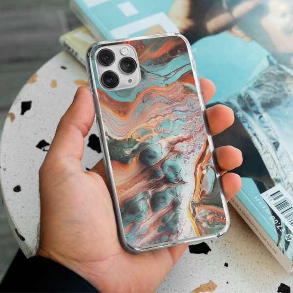 Marble-Rust-Phone-Case