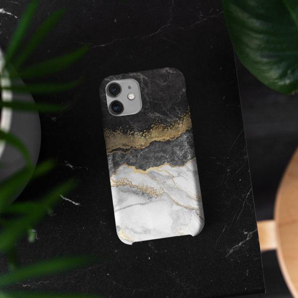 Marble-split-phone-case