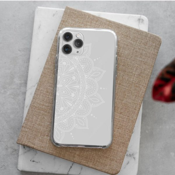 Monochrome-Mandala-Phone-Case