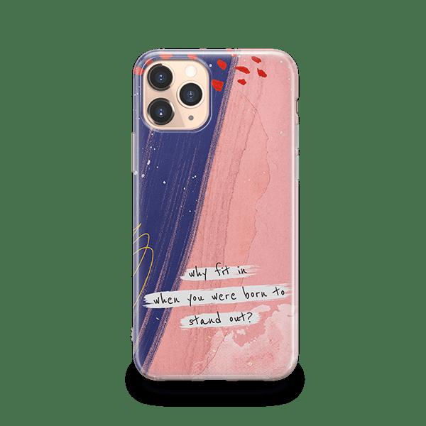 PastEL Custom Quote iphone 11 pro case