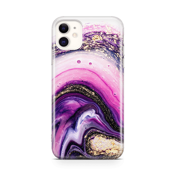 Amethyst Galaxy iPhone 11 case