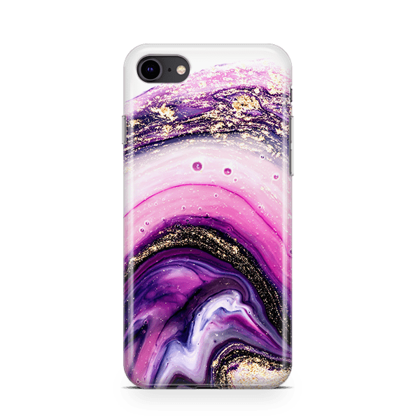 Amethyst Galaxy iPhone 8 case
