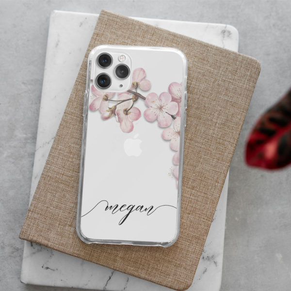 Blossom-Initial-Phone-Case
