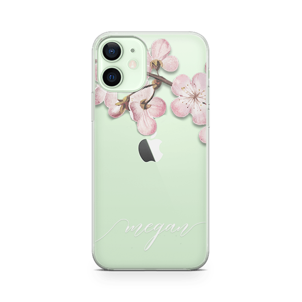 Blossom Initial iPhone 12 Case