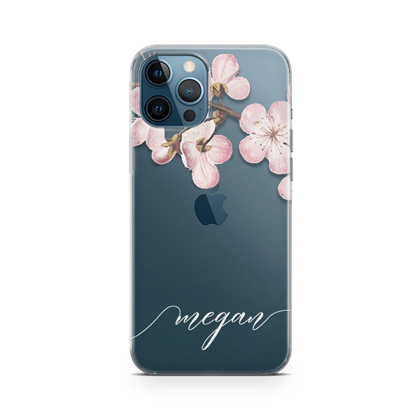 Blossom Initial iPhone 12 Pro Case