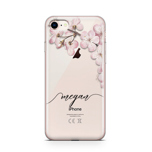 Blossom Initial iPhone 8 Case