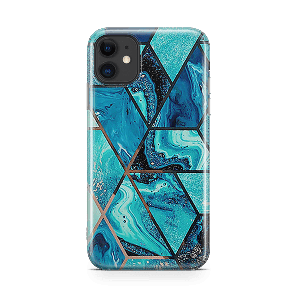 Electroplate Ocean iPhone 11 Case