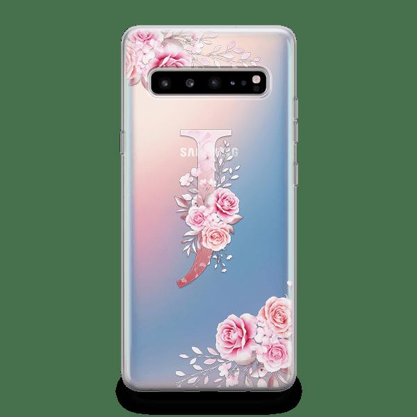 Amaranth Initial iPhone 12 Case