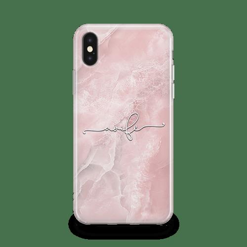 Champagne Script iPhone 11 Case