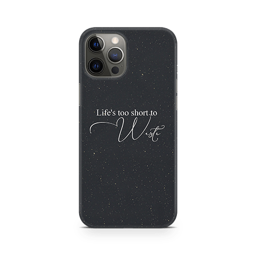 life's too short iphone 12 Case