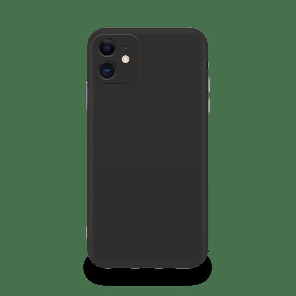 Liquid Silicone iPhone 11 case- Black
