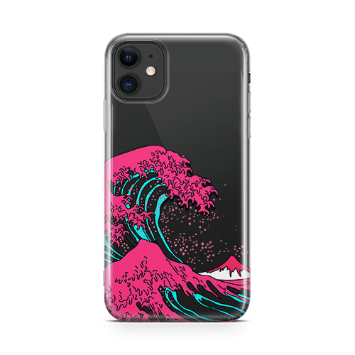 Neon Wave Galaxy iphone 12 Case