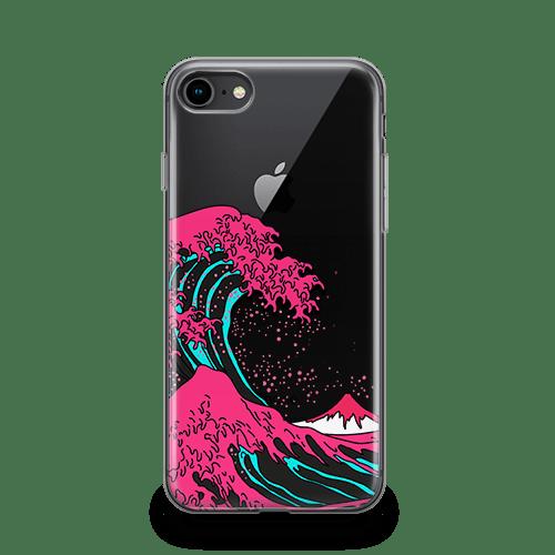 Neon Wave Galaxy iphone 12 Case