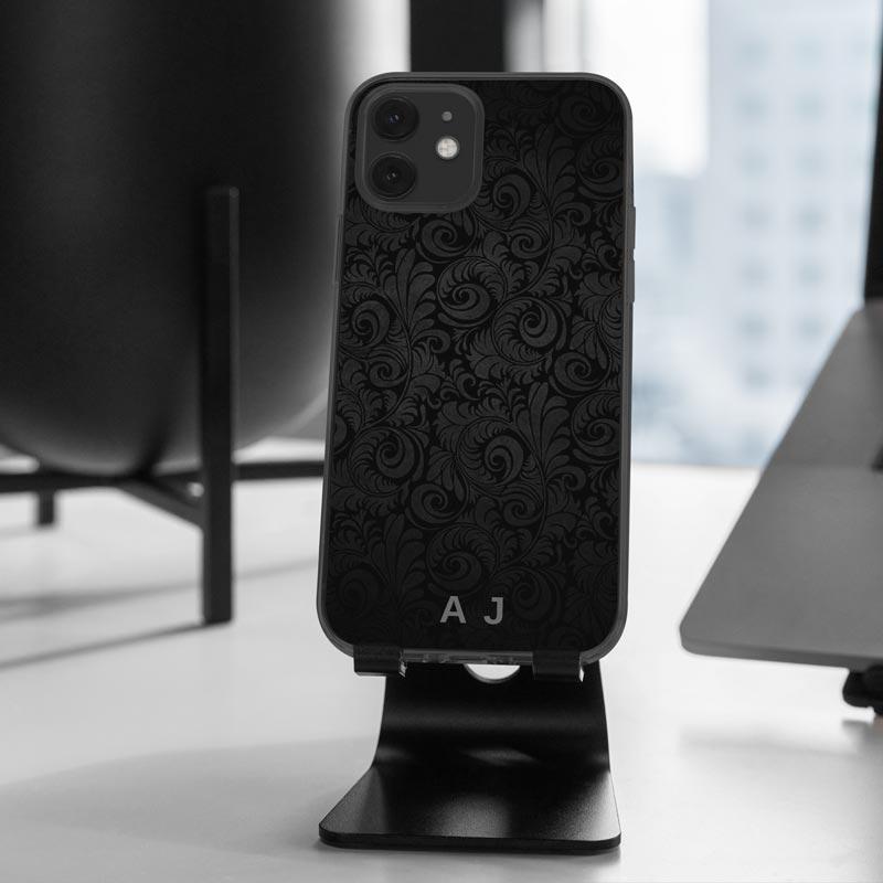 Mono-Paisley-Phone-Case