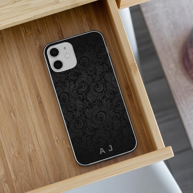 Mono-Paisley-iPhone-Cover