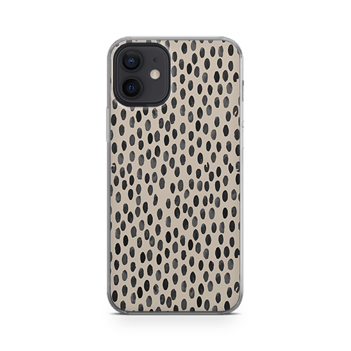Coffee Polka iPhone 12 Case