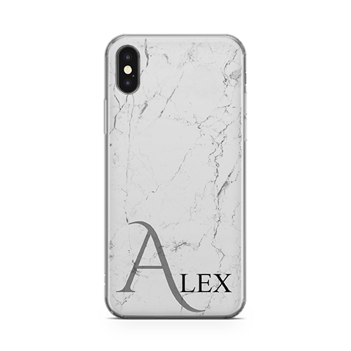 Marble-Light-iPhone 12 Case