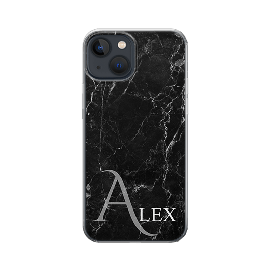 Marble-Shadow-iPhone 12 Case