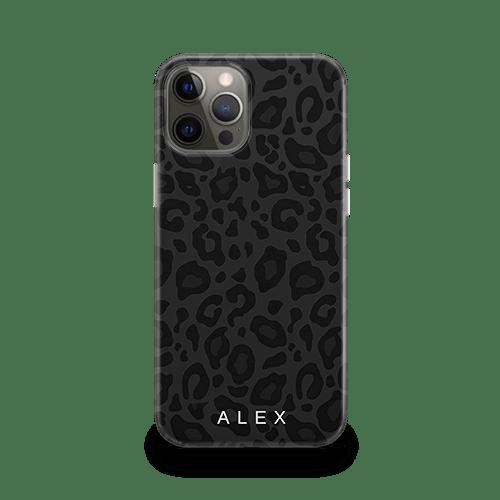 Noir Leopard iPhone 13 Case