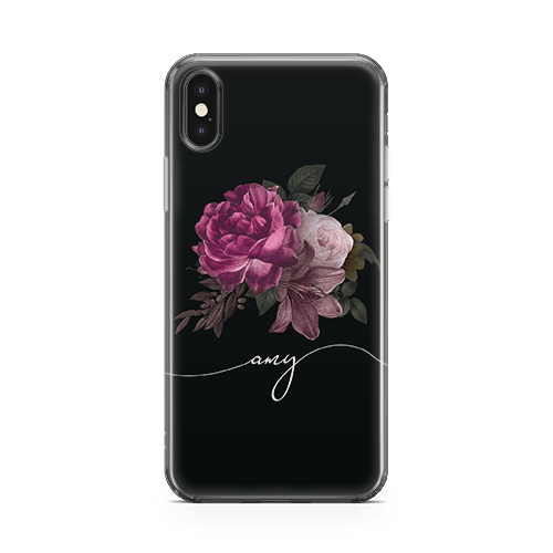 Orchid Script iPhone 12 Case